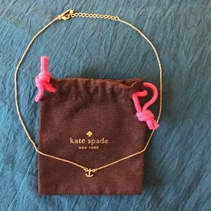 Kate Spade anchor necklace